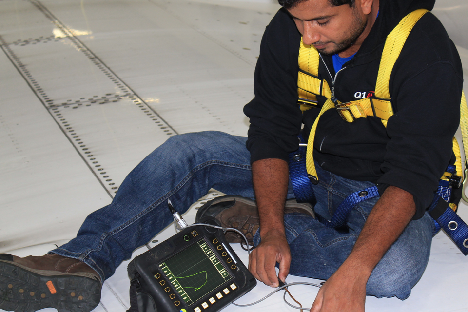 NDT Gallery - Eddy Current Inspection
