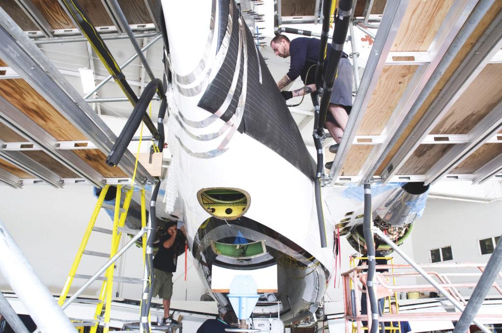 Heavy Maintenance & Avionics Support